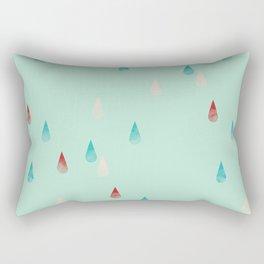 Raindrop Repeat Rectangular Pillow