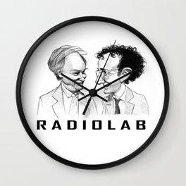 RadioLab with Robert and Jad Wall Clock