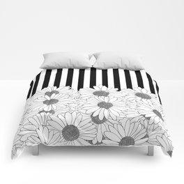 Daisy Stripe Comforters