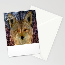 Long Night Coyote Stationery Cards