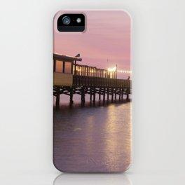 Pier 19 - Dusk iPhone Case