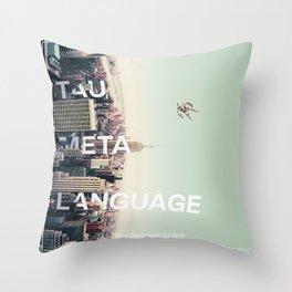 TML, Tau Meta Language Throw Pillow