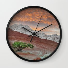 White Pocket Cliffs National Monument Wall Clock