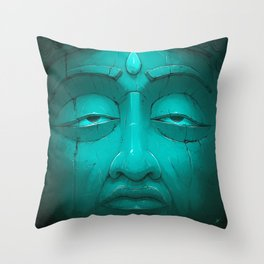 Buddha I. Throw Pillow