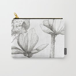 Bird and magnolia Carry-All Pouch