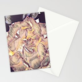 Flower Rose Stationery Cards