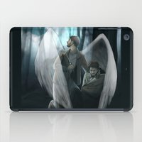 verse iPad Cases featuring Reverse!verse Purgatory by Justyna Rerak