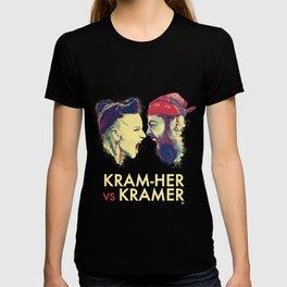 KRAM-ER vs KRAMER T-shirt