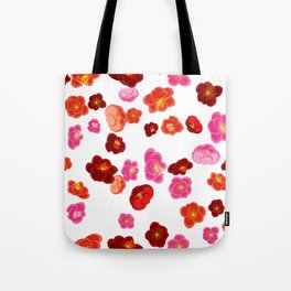 Quince flower pattern 1 Tote Bag