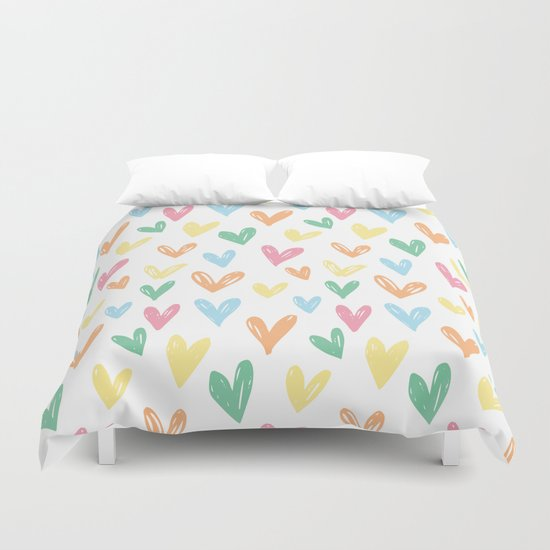 Party hearts ! Duvet Cover