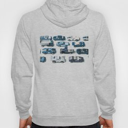 Its A Parking Lot Out There... Blue Hoody