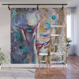 Swirling Sensation Wall Mural