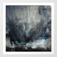 The Beginning (oil on canvas) Art Print