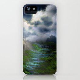 Light and Shadow iPhone Case