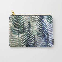 Watercolour Ferns Carry-All Pouch