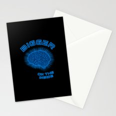 Thoughts And Radical Dreams Inside Skull Stationery Cards