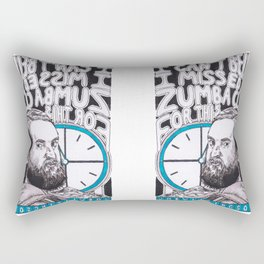 Joe Wilkinson Does Countdown Rectangular Pillow