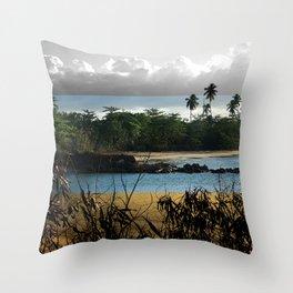 Changing nature Throw Pillow