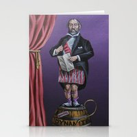 haunted mansion Stationery Cards featuring Haunted Mansion Portrait: Dynomite by Jonathan R. Lopez