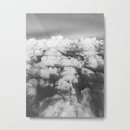 Cloud Scene Metal Print
