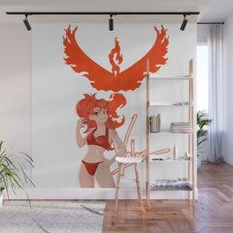 Team Valor Girl Wall Mural