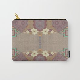Pallid Minty Pattern 10 Carry-All Pouch