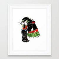 rasta Framed Art Prints featuring RASTA by SpaceCrafts