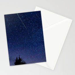 Meteor Perseid Stationery Cards