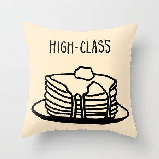 High-Class Throw Pillow