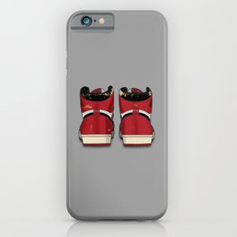 """The Beaters"" Print Grey iPhone Case"