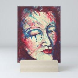 TEARS AT NIGHT Mini Art Print
