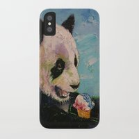 ice cream iPhone & iPod Cases featuring Ice Cream by Michael Creese