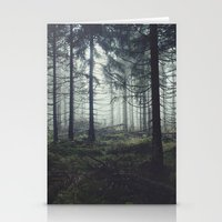 marina and the diamonds Stationery Cards featuring Through The Trees by Tordis Kayma