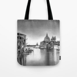 Venice Pencil Drawing Tote Bag