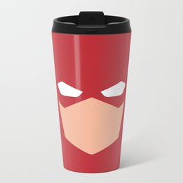 Flash Superhero Metal Travel Mug
