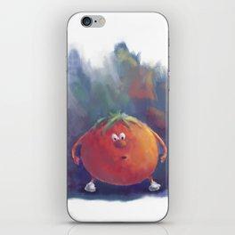 Tomato Dismay by dana alfonso iPhone Skin