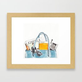 Day 14 - Kinfolk Framed Art Print