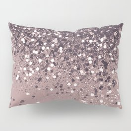 Sparkling Mauve Lady Glitter #3 #shiny #decor #art #society6 Pillow Sham
