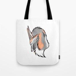 Cross{ed} Fox Tote Bag