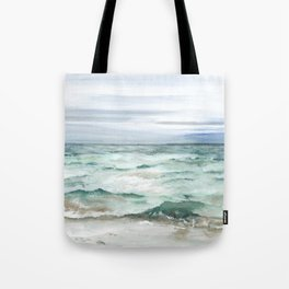 Oceanscape of Anna Maria Island Florida. Tote Bag