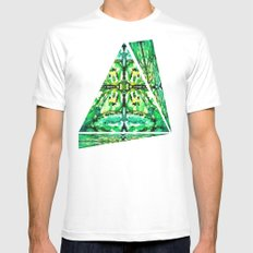 FROGSOUL White Mens Fitted Tee MEDIUM