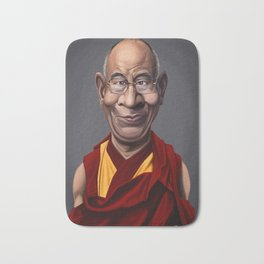 Celebrity Sunday ~ Dalai Lama Bath Mat