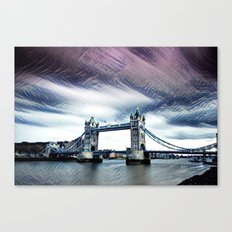 The Glorious London Bridge (Sunset & River) Canvas Print