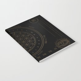 Shadow | Higher Dimensional Spirit Board (Ouija)  Notebook