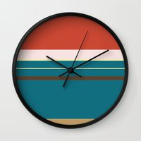 merida Wall Clocks featuring Merida by Fräulein Fisher