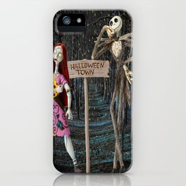 Halloween Town | Jack | Sally | Christmas | Nightmare iPhone Case