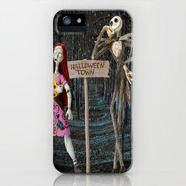Halloween Town | Jack | Sally | Christmas | Nightmare iPhone Case