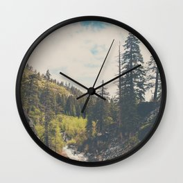 into the wild ...  Wall Clock