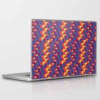 pixel art Laptop & iPad Skins featuring Pixel  by Colocolo Design | www.colocolodesign.de