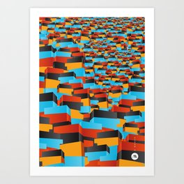 O Morro I Art Print